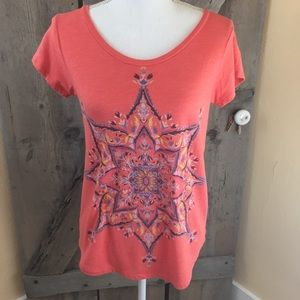 Lucky Brand Graphic Tee Size Small